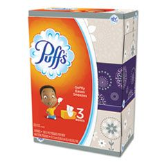 White Facial Tissue, 2-Ply, White, 180 Sheets/Box, 3 Boxes/Pack, 8 Packs/Carton