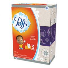 White Facial Tissue, 2-Ply, White, 180 Sheets/Box, 3 Boxes/Pack