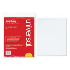 """LAMINATING POUCHES, 3 MIL, 9"""" X 11.5"""", MATTE CLEAR, 25/PACK"""