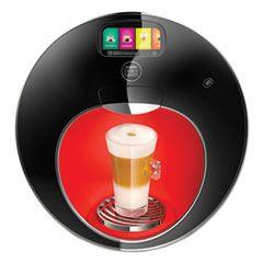 MAJESTO AUTOMATIC COFFEE MACHINE, BLACK/RED