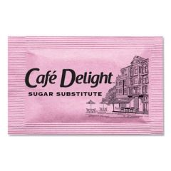 PINK SWEETENER PACKETS, 0.08 G PACKET, 2000 PACKETS/BOX