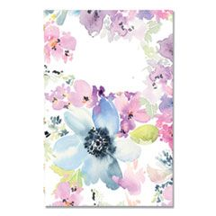 MIRACLEBIND WEEKLY/MONTHLY PLANNER, 8 X 5, FLORAL, 2021
