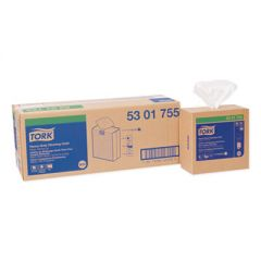 HEAVY-DUTY CLEANING CLOTH, 8.46 X 16.13, WHITE, 80/BOX, 5 BOXES/CARTON