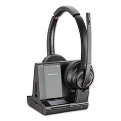 SAVI W8220M BINAURAL OVER-THE-HEAD HEADSET