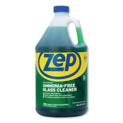 AMMONIA-FREE GLASS CLEANER, PLEASANT SCENT, 1 GAL BOTTLE, 4/CARTON
