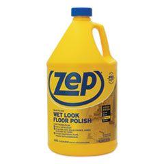 Wet Look Floor Polish, 1 Gal Bottle