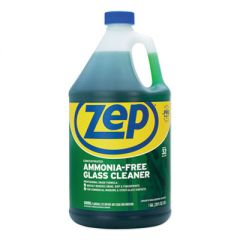 AMMONIA-FREE GLASS CLEANER, PLEASANT SCENT, 1 GAL BOTTLE