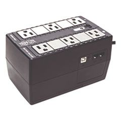INTERNET OFFICE ULTRA-COMPACT DESKTOP STANDBY UPS, USB, 6 OUTLETS, 350 VA, 380 J