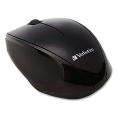 WIRELESS NOTEBOOK MULTI-TRAC BLUE LED MOUSE, 2.4 GHZ FREQUENCY/32.8 FT WIRELESS RANGE, LEFT/RIGHT HAND USE, BLACK