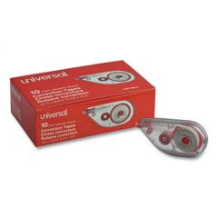 "SIDE-APPLICATION CORRECTION TAPE, NON-REFILLABLE, 1/5"" X 393"", 10/PACK"
