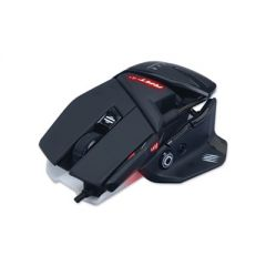 AUTHENTIC R.A.T. 4+ OPTICAL GAMING MOUSE, USB 2.0, LEFT/RIGHT HAND USE, BLACK