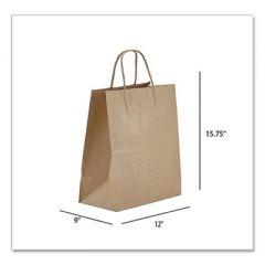 KRAFT PAPER BAGS, REGAL, 12 X 9 X 15.75, NATURAL, 200/CARTON