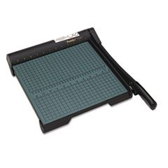 """The Original Green Paper Trimmer, 20 Sheets, Wood Base, 12 1/2""""x 12"""""""