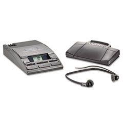 720-T Desktop Analog Mini Cassette Transcriber Dictation System W/foot Control