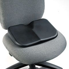 SEAT CUSHION, 15.5W X 10D X 3H, BLACK