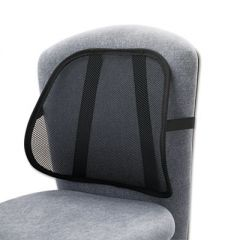 MESH BACKREST, 17.5W X 3D X 15H, BLACK