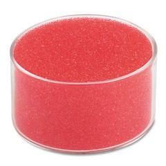 """Sponge Cup Moistener, 3"""" Dia, Clear"""